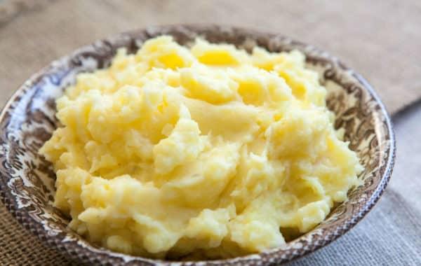 Mash Potato mixed with Mash Potato -