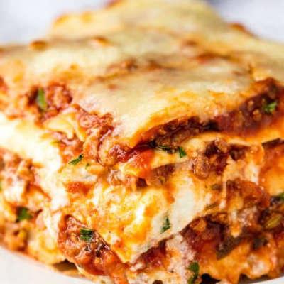 Lasagna adjusted