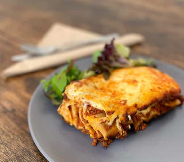 Beef Lasagne in our Home Made Bolognese Sauce -