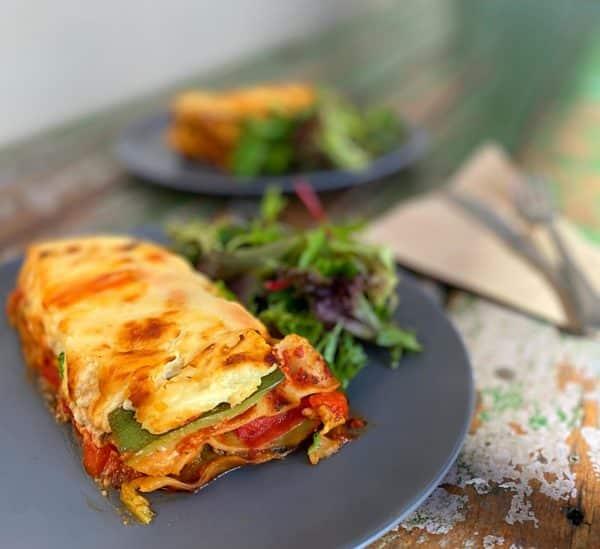 Vervie Vegetarian Lasagne in Bechamel Sauce -