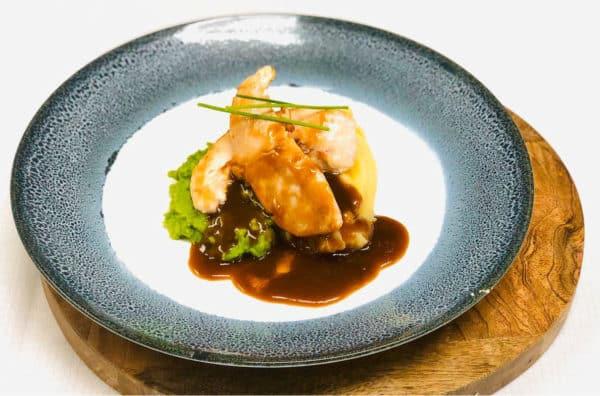 Chicken Tenderloins Mash & Mushy Peas with Gravy -