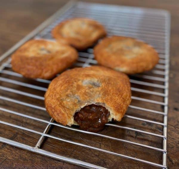 Home Made Beef Pie in Groovy Gravy -
