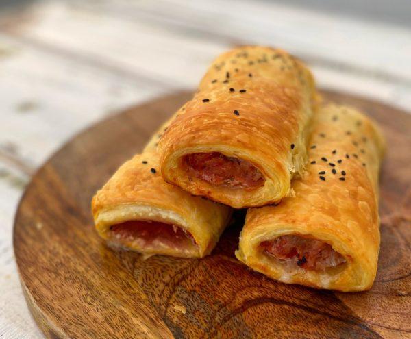 Pork, Chorizo and Fennel Sausage Roll -