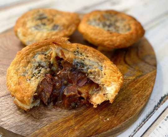 Pepper brisket pie - Heat & Eat Meals In Newcastle - Yumborama