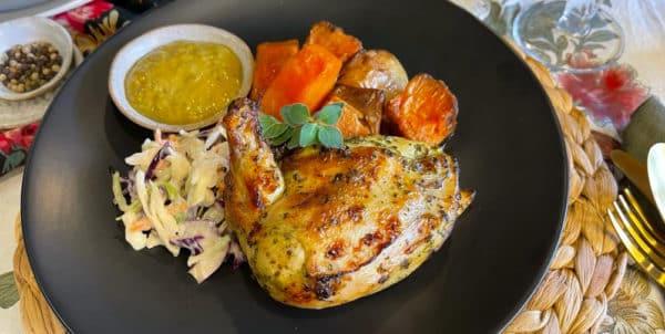 Peri Peri Chicken Roast Vegies & Coleslaw -
